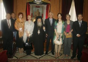 1.Commemorative photo of Mr. Spiric visit to the Patriarchate.