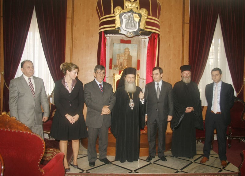 Commemorative photo of the visit of the Chief of EL.AS.