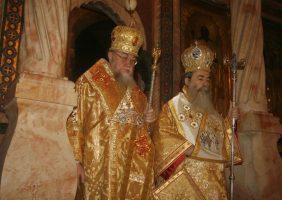 H.B. Patriarch of Jerusalem & H.E. Metropolitan of Poland.