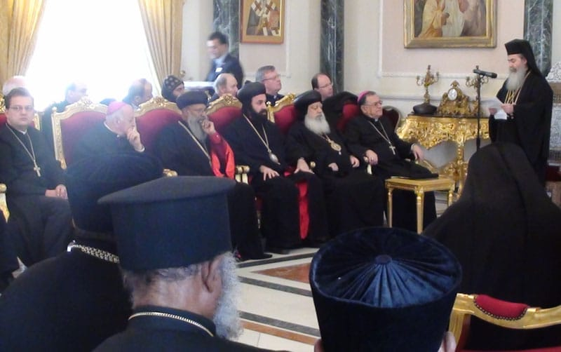 H.B. adresses the Leaders of Churches.