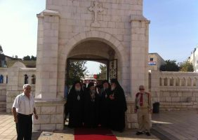 The reception of His Beatitude in Nazareth