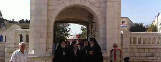 The reception of His Beatitude in Nazareth