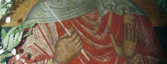 The icon of Saint Thekla