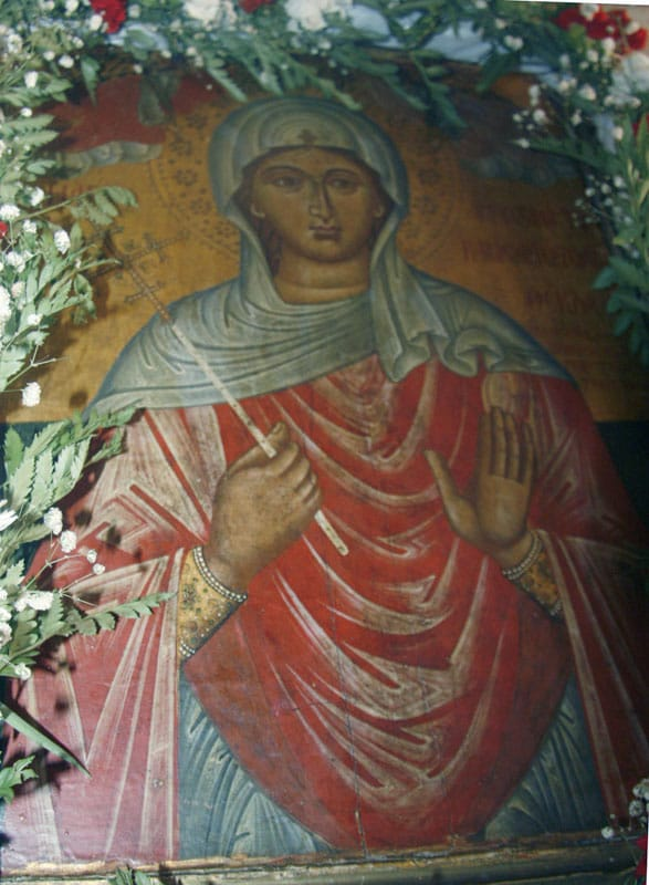 The icon of Saint Thekla