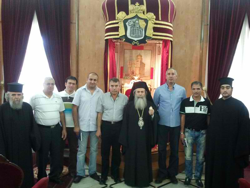 The Commission of the pilgrimage of Lydda together with His Beatitude
