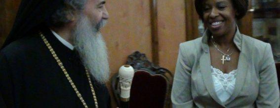 Mrs. Cheryl Igiri visits the Patriarchate