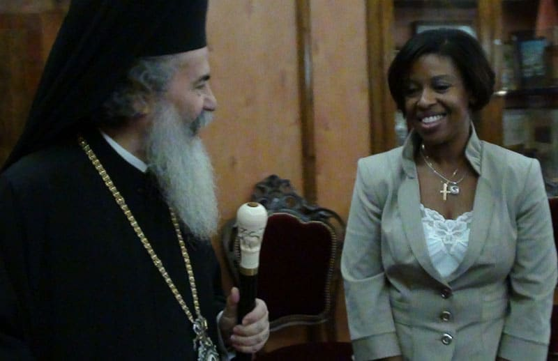 Mrs. Cheryl Igiri visits the Patriarchate