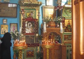 The Kneeling-desk of Great Panagia