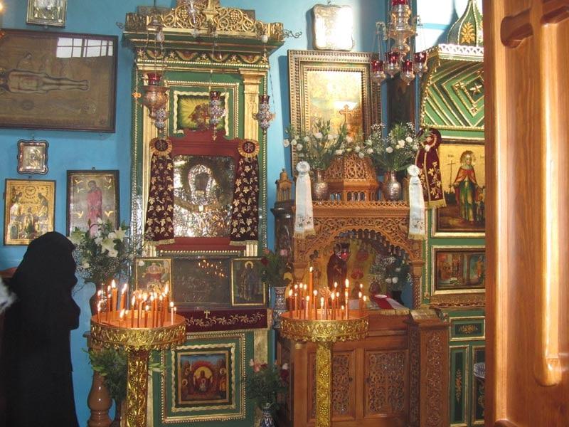 The Kneeling-desk of Great Panagia