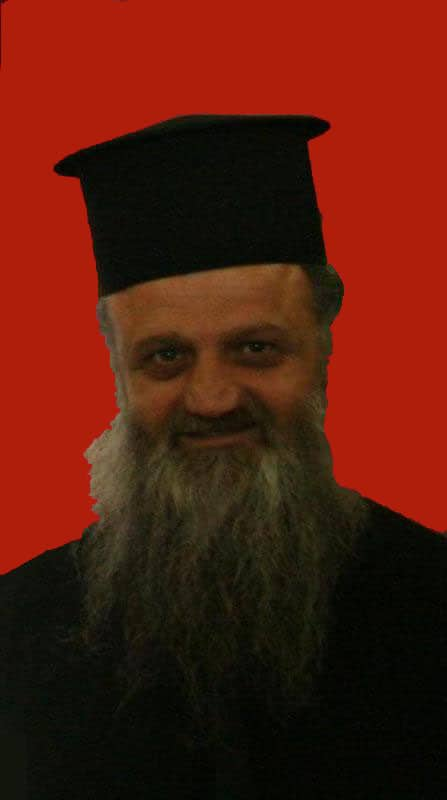 The elected Archbishop of Lydda, Demetrios