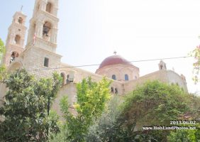 The splendid church of St Photini in Samaria