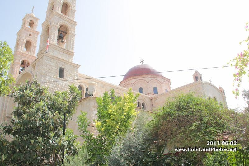 The splendid church of St Photini in Samaria