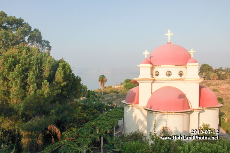 The Holy Monastery of Peter and Paul in Capernaum