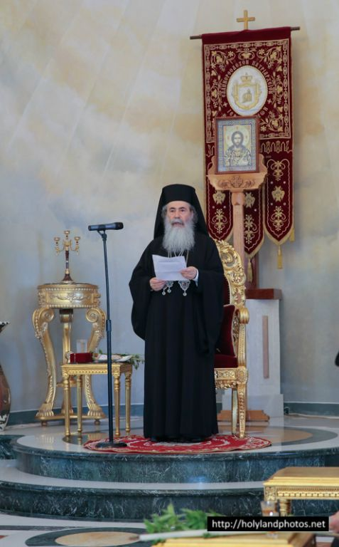 His Beatitude during his address