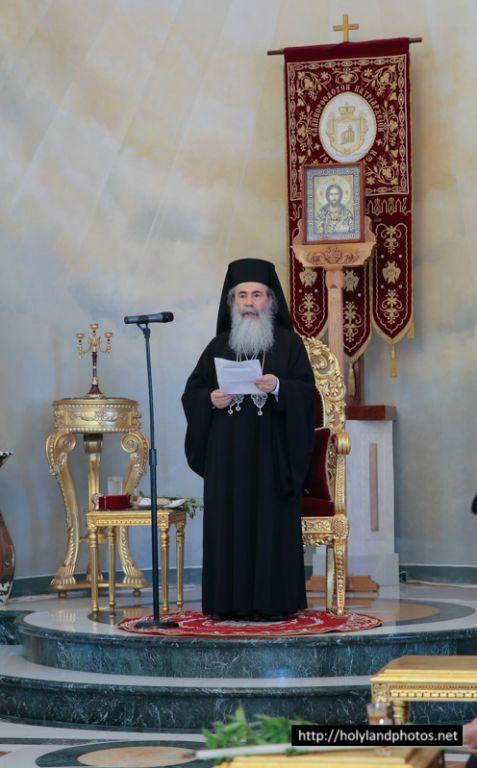 His Beatitude at the Divine Liturgy