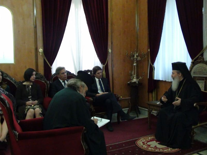 Delegation of Greek Environment Ministry at the Patriarchate