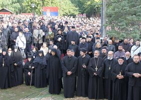 Participants in the Patriarchal Joint Liturgy
