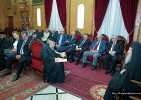 The Assembly at the meeting with His Beatitude
