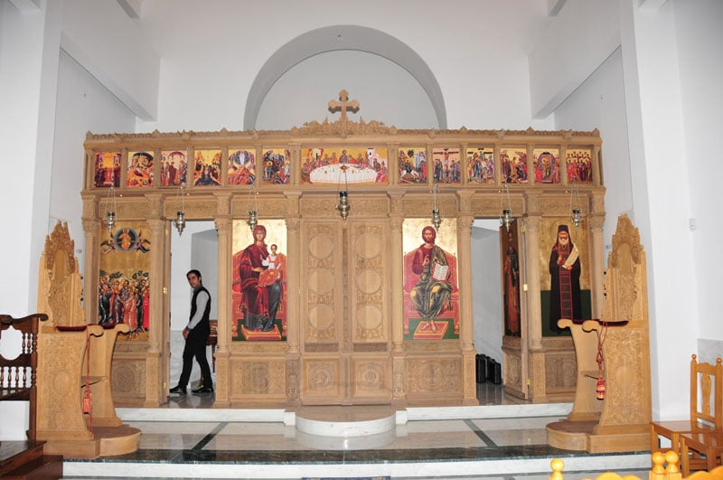 The opening of the doors of the Holy Sepulchre Exarchy in Nicosia
