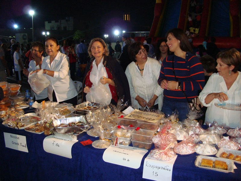 Christmas Bazaar in Qatar