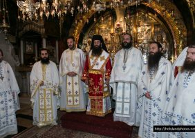 The Divine Liturgy on the Horrendous Golgotha