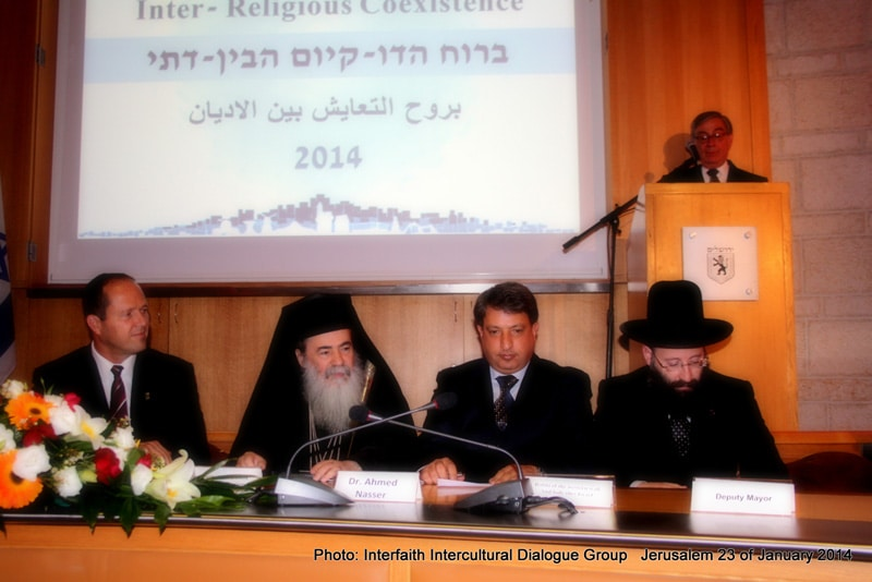 At the event – Source: Interfaith Intercultural Dialogue Group