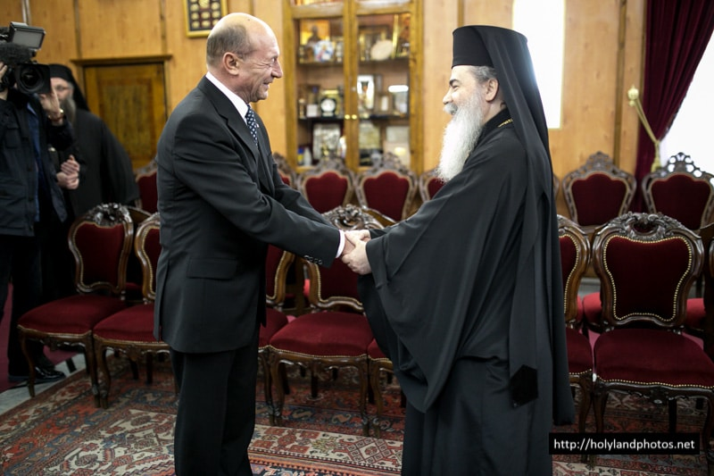 His Beatitude welcomes the Romanian President