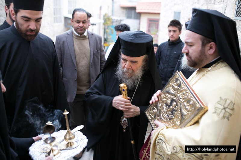 The Prelatic Retinue welcomed to St Efthymios