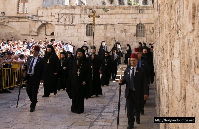 Progression of the Hagiotaphite Brotherhood to the Church