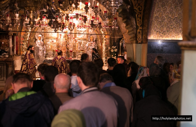 The Divine Liturgy of the Presanctified Gifts at the Holy Golgotha