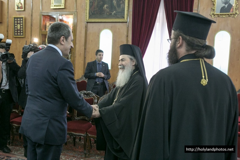 The Bulgarian Prime Minister with His Beatitude