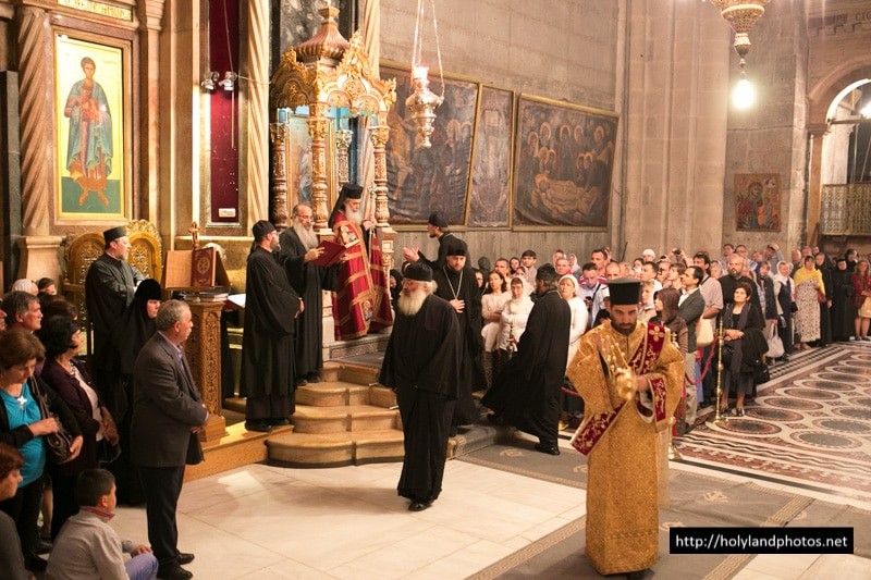 Joint Patriarchal Liturgy in the Church of the Resurrection