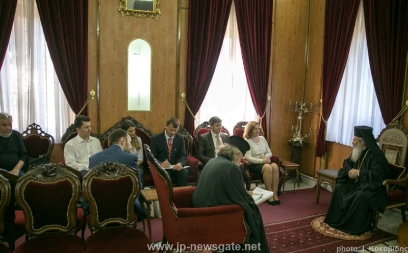 The Deputy Prime Minister of Moldova at the Patriarchate