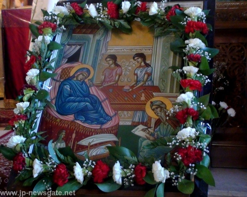 The feast of the Nativity of John the Baptist