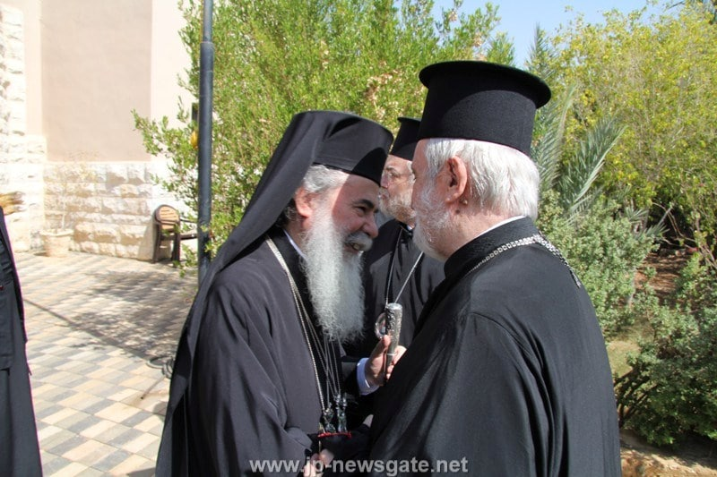 The Patriarch of Jerusalem and the Metropolitan of Pergamos
