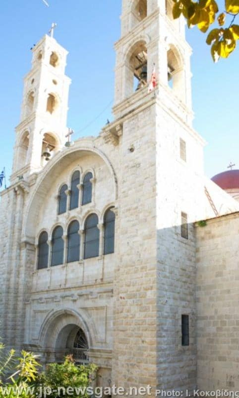 The Church of St Photini in Nablus, Samaria