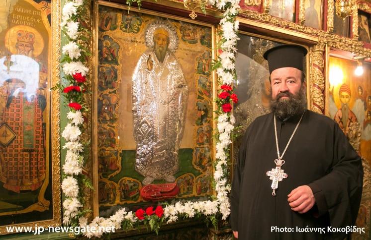 The Hegoumen, Archimandrite Sergios