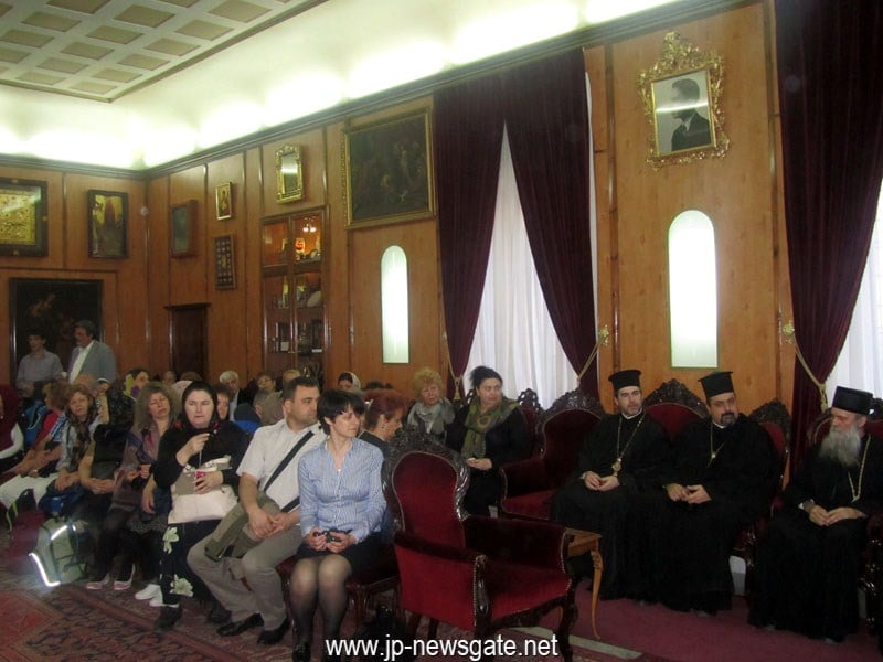 The Metropolitan of Austria and pilgrims at the Patriarchate