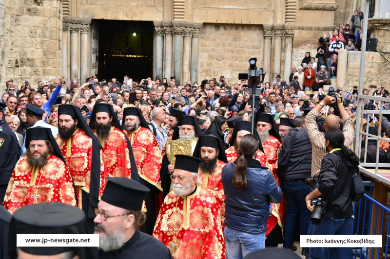 The Hagiotaphite Brotherhood welcomes the President of Israel to the Patriarchate