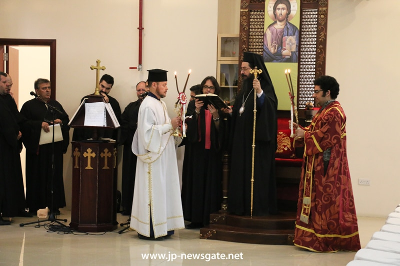 The feast of St George in the Archbishopric of Qatar