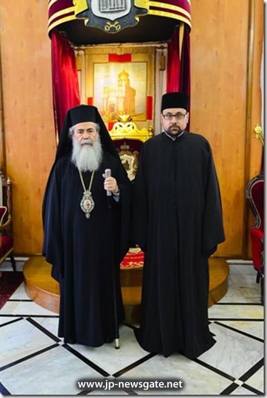 H.B. with novice Professor Lykoudis
