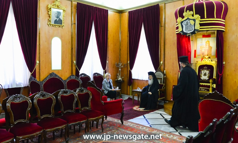 The Patriarch meets the new Consul of Sweden