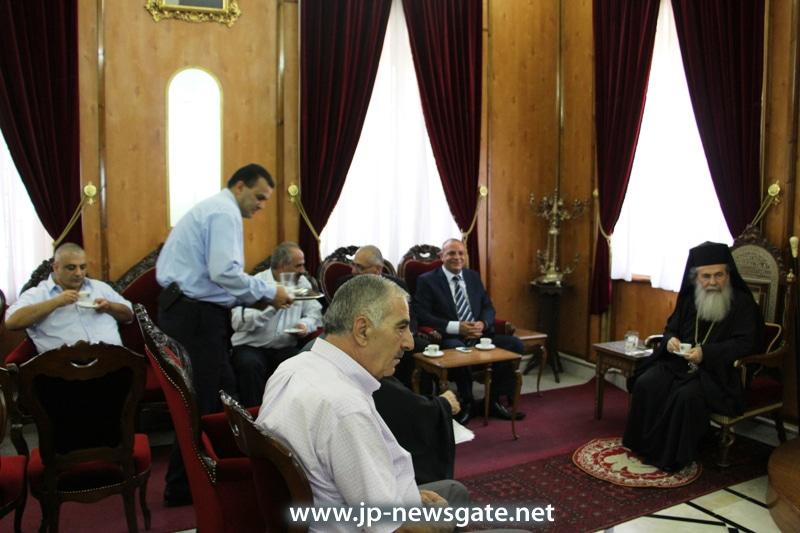 Messrs. Najar and Abu Aeta meet with H.B.