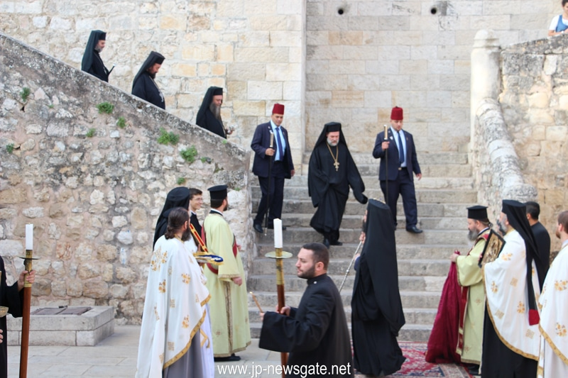 Welcoming the Prelate to the Court of Gethsemane