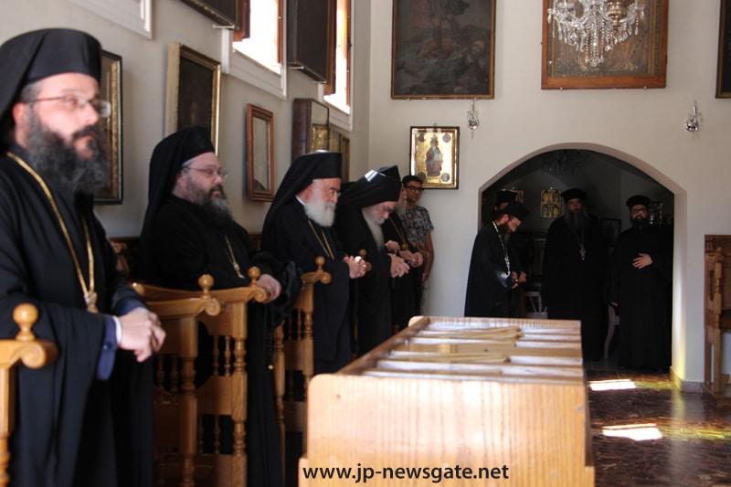 01 The Ninth Hour at the Patriarchate's Central Monastery