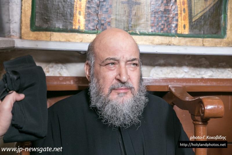 The late Archimandrite Keladion