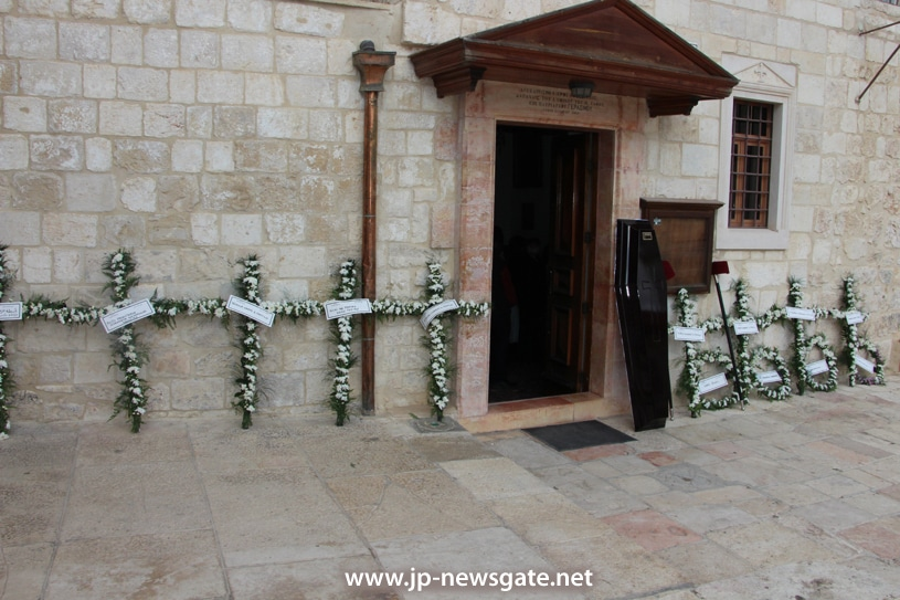 The funeral service for the late Archimandrite Keladion Sts Constantine and Helen