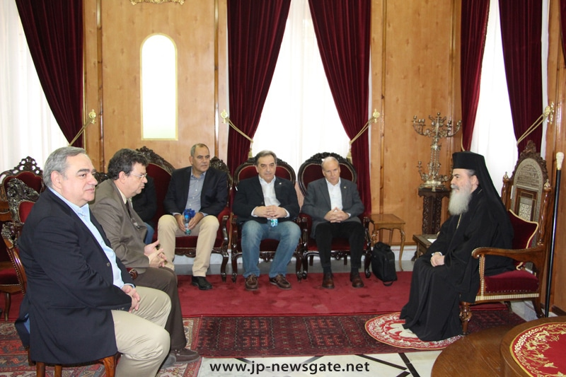 The Patriarch meets Greek University Rectors
