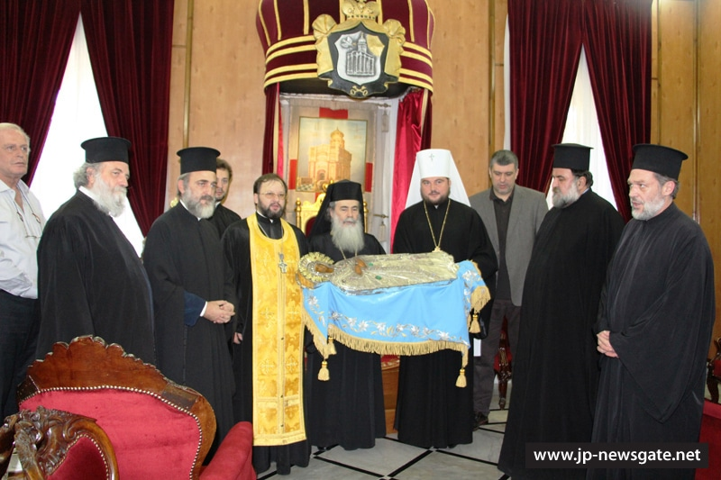 The holy icon of Theotokos returned to the Patriarchate