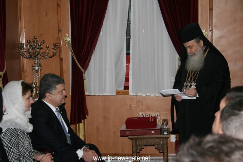 His Beatitude addresses the Ukrainian President